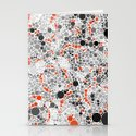 Volcano Dots Stationery Cards