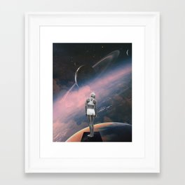 Framed Art Print - The Deep End - TRASH RIOT
