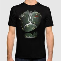 Mandalorian Bounty Hunter Mens Fitted Tee Black SMALL