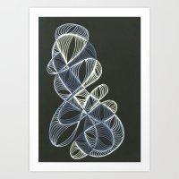 Small Nebula Six Art Print