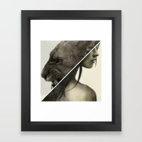 Live To Win. Framed Art Print