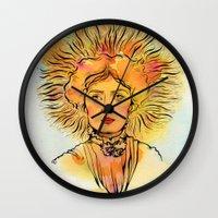 Leo (Zodiac series) Wall Clock