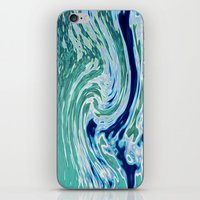 OCEAN ABSTRACT 2 iPhone & iPod Skin