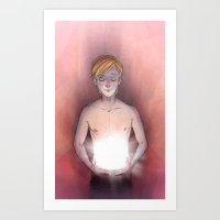 Shiny Box Art Print