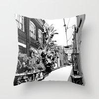 Sydney II Throw Pillow