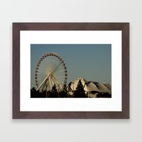 Navy Pier - Chicago, IL Framed Art Print