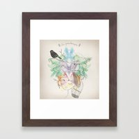 Au Printemps Framed Art Print