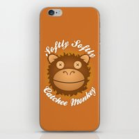Softly Softly Catchee Mo… iPhone & iPod Skin