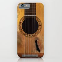 iPhone & iPod Case featuring Willie Nelson's Trigger Guitar by Greg Koenig