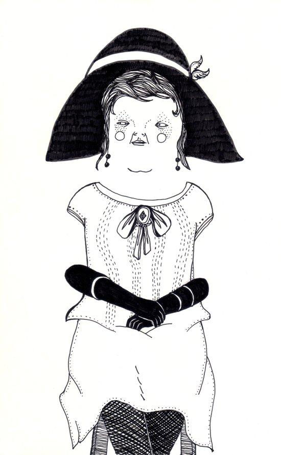 Srta. Asunción Art Print