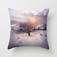 Lone Tree Love II Throw Pillow