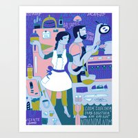 Cook Together Art Print