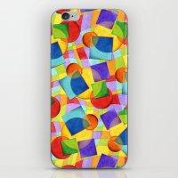 Candy Rainbow Geometric iPhone & iPod Skin