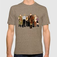 Firefly/serenity Crew Mens Fitted Tee Tri-Coffee SMALL