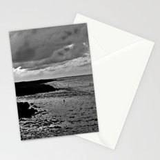 River to the open Danish Sea  Stationery Cards