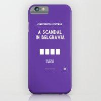 BBC Sherlock A Scandal in Belgravia Minimalist Poster iPhone 6 Slim Case
