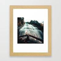 Before the Veil Framed Art Print