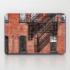 Tenement facade  iPad Case