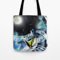Music Man Tote Bag