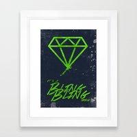 The BlingBling Thing Framed Art Print