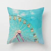 Day At The Fair Throw Pillow