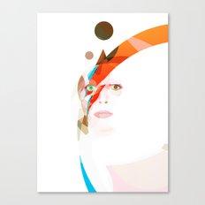 Bowie - Aladdin Sane Canvas Print