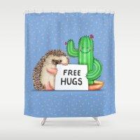Best Buddies Shower Curtain