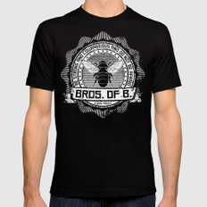 Bros. of B. Dark Mens Fitted Tee Black SMALL
