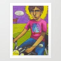 L'il Ennio Art Print