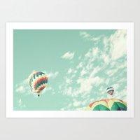 Flight of the Spherical Turtle Art Print