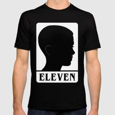 Eleven Black Mens Fitted Tee SMALL
