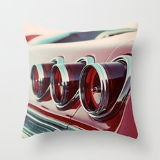 Taillights Throw Pillow