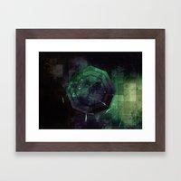 Random Octo Framed Art Print