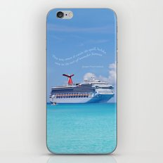 Cruisin' the Caribbean iPhone & iPod Skin