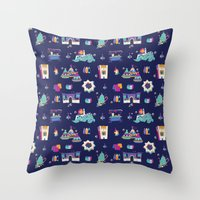 Morrocan Night Throw Pillow