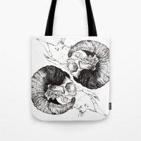 Skull study Tote Bag