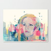 City Lights ANALOG Zine Canvas Print
