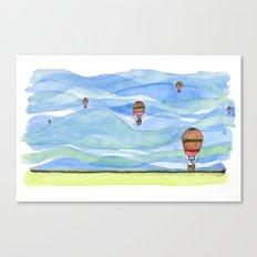 Float Away Canvas Print