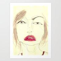 Study #3 Art Print