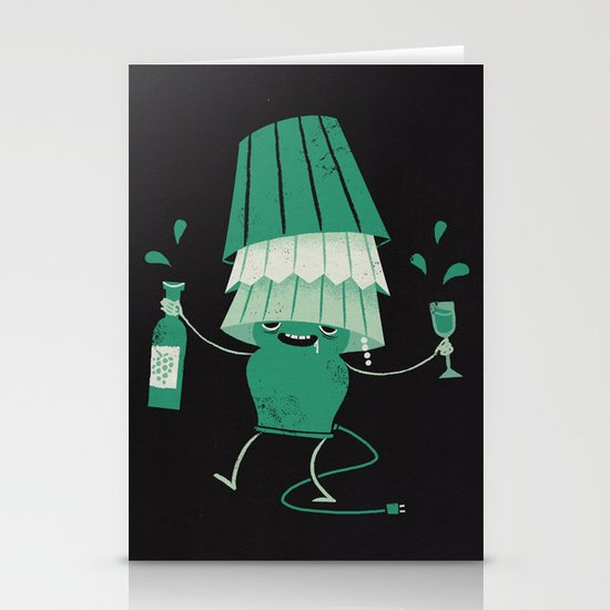 Lights Out Stationery Card