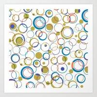 all round Art Print