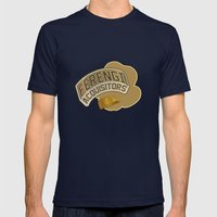 Ferengi Acquisitors Mens Fitted Tee Navy SMALL
