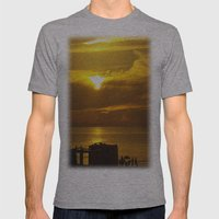 End Of Day Mens Fitted Tee Athletic Grey SMALL