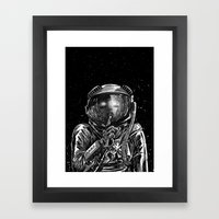 The Secrets of Space Framed Art Print