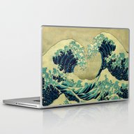 The Great Blue Embrace A… Laptop & iPad Skin