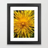 Yellow Love Framed Art Print