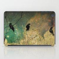 Retro Clouds iPad Case