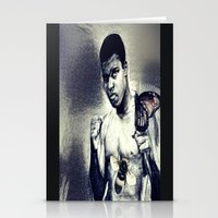 Ali- Float like a Butterfly sting like a bee Stationery Cards