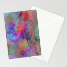 Electro Jellyfish Ball Stationery Cards