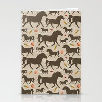 Ponies, Peppermints, Car… Stationery Cards